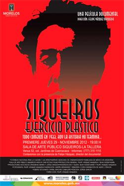 Premier documental siqueiros ejercicio pl stico blog for El mural de siqueiros en argentina