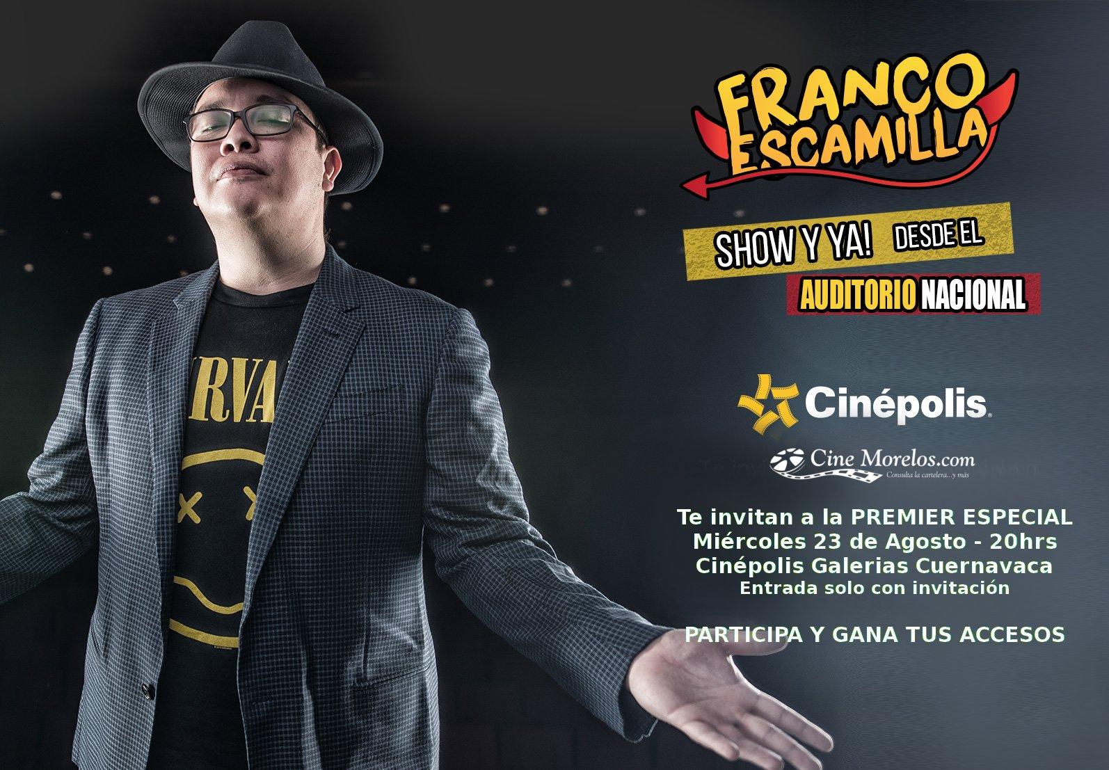 franco escamilla pelicula show cine