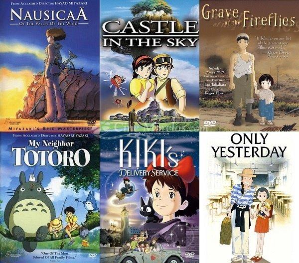 peliculas hayao miyazaki