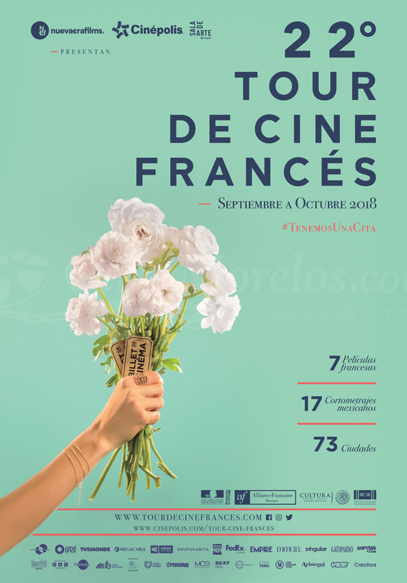 22 tour cine frances poster